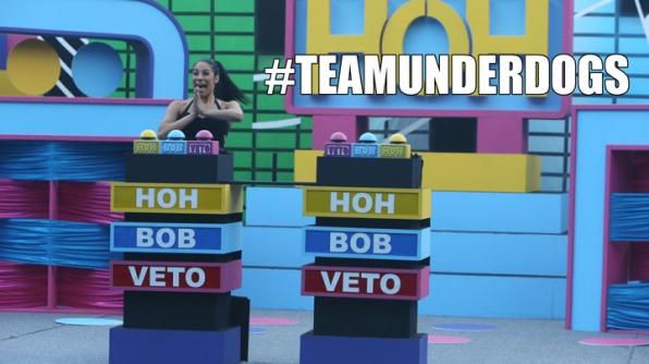5. Jackie and Vanessa won HoH!