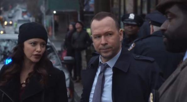 Maria Baez as Marisa Ramirez and Donnie Wahlberg as Danny Reagan