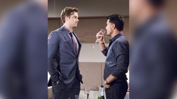 Bill subtly plays on Thomas' emotions regarding Caroline and Douglas while on the flight to Monte Carlo.