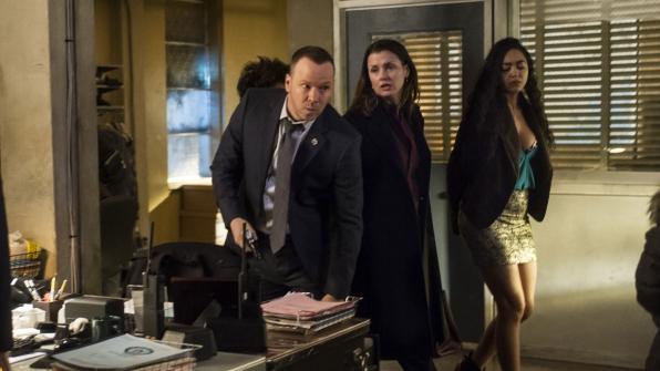 Donnie Wahlberg as Detective Danny Reagan and Bridget Moynahan as Erin Reagan