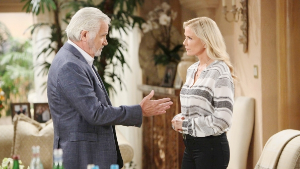 Brooke questions Eric's thoughtful, yet thoughtless, decision to help Sheila.