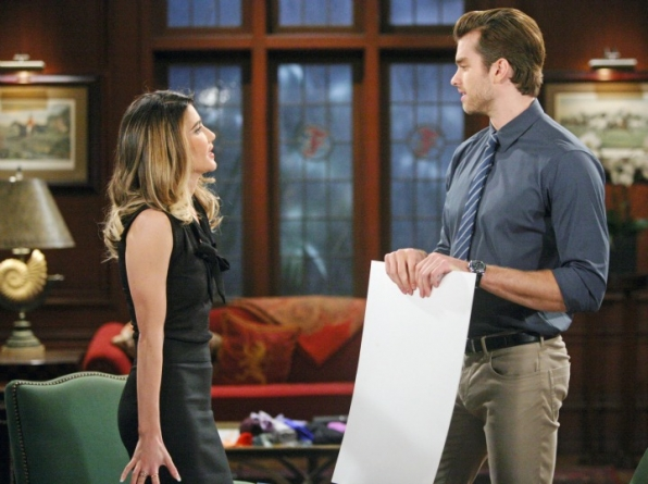 "Steffy has ""better's remorse"" over the wager she made with Thomas over a conquest with Ivy."