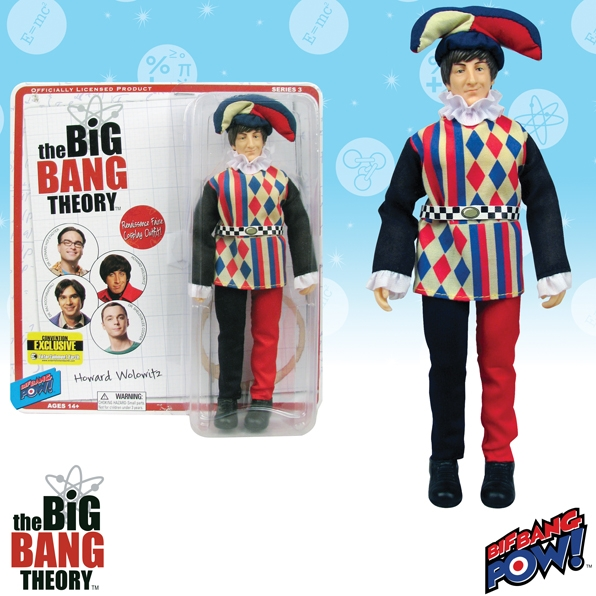 The Big Bang Theory Howard Jester 8-Inch Figure - Convention Exclusive