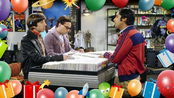 There are plenty of reasons to party on The Big Bang Theory!