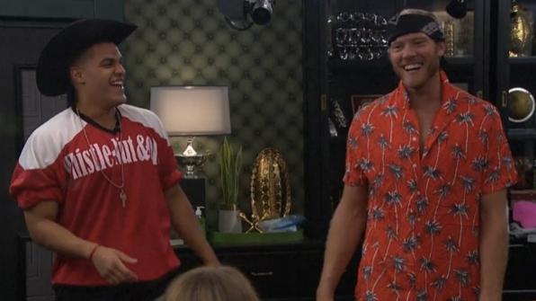 Josh and Jason swap clothes