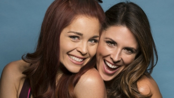 Erin Robinson and Joslyn Davis from The Amazing Race