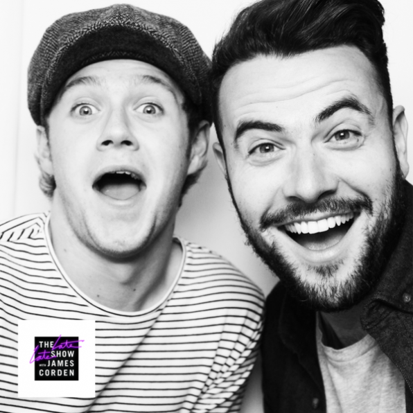 Niall Horan and Ben Winston
