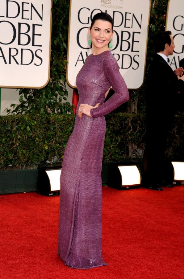 Julianna at the Golden Globes