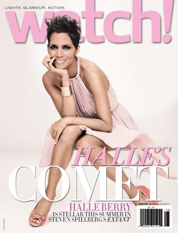 Halle Berry on the Cover of Watch! Magazine August 2014