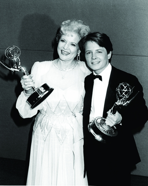 Betty White and Michael J. Fox