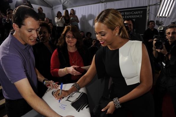Beyonce Autographs