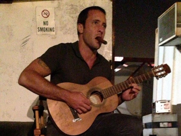21. Alex O'Loughlin - Guitar - Hawaii Five-0