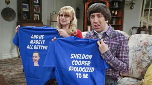 15. We laughed when Sheldon went on an apology tour