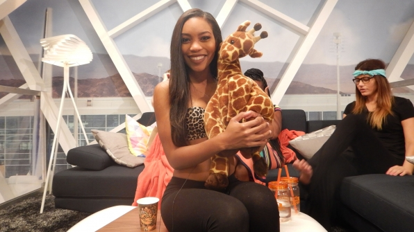 It looks like Zakiyah's got a new four-legged friend in the Season 18 house.