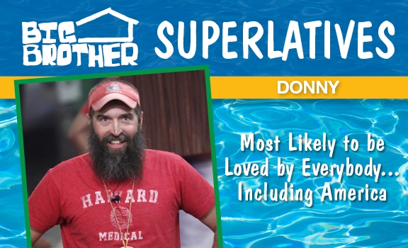 Donny - Most Likely to be Loved By Everybody...Including America