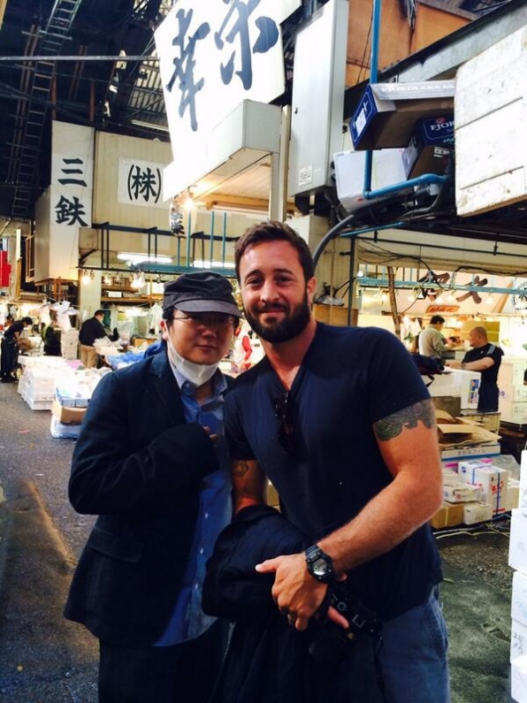 4. Alex O'Loughlin - Hawaii Five-0