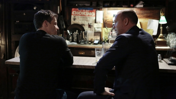 Will Estes as Jamie Reagan and Donnie Wahlberg as Detective Danny Reagan