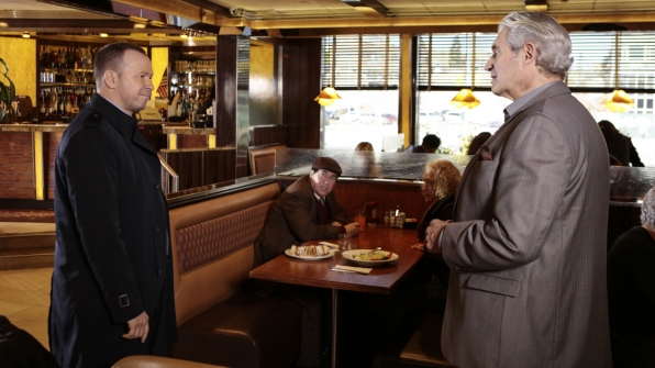 Donnie Wahlberg as Detective Danny Reagan and Michael Nouri as Nick Constantine