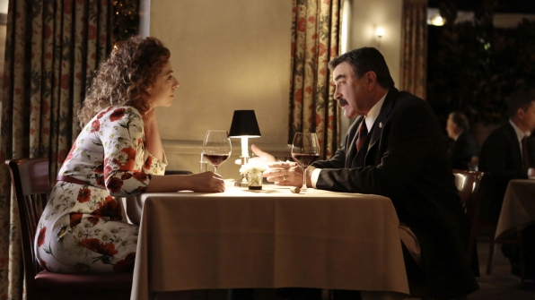 Alex Kingston as Sloane Thompson and Tom Selleck as Frank Reagan