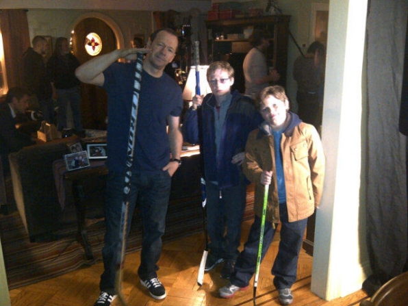 Behind the Scenes: Playing Hockey on the Set