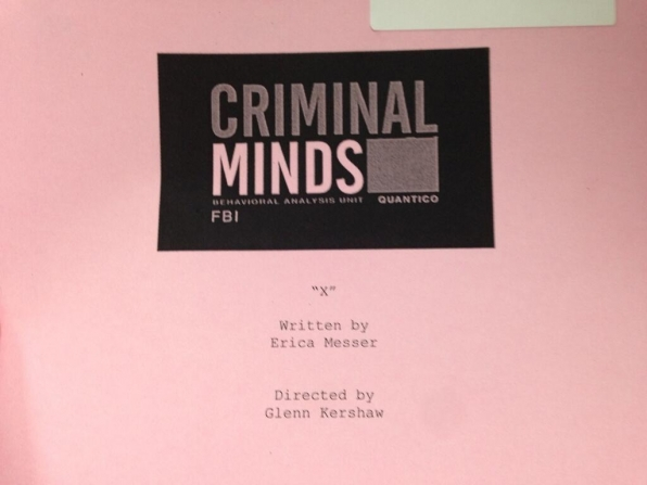 Twitter @CM_SetReport: ...and were up and running! #criminalminds season 10 starts today!!!