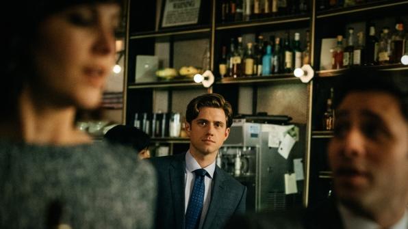 Gareth notices Laurel at the bar.
