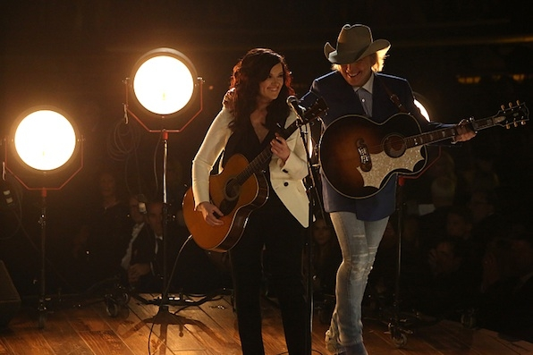 Brandy Clark and Dwight Yoakam on Strings