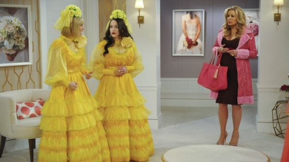 When she chose the brightest bridesmaids' dresses ever created.
