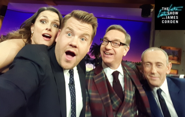 Bridget Moynahan, Paul Feig, and Sir Nicholas Hytner