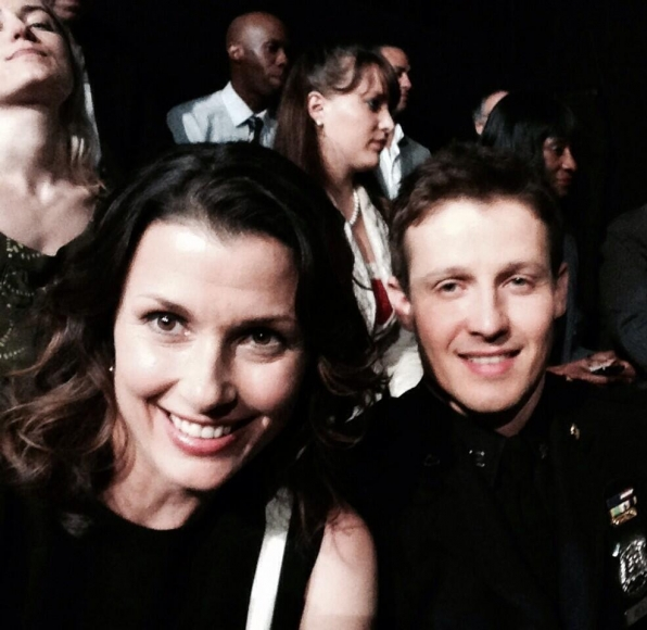 9. Bridget Moynahan and Will Estes - Blue Bloods