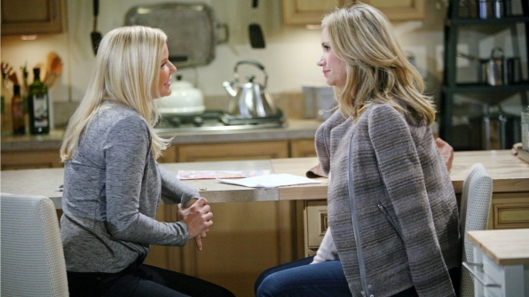 Bridget offers her support to her mother.