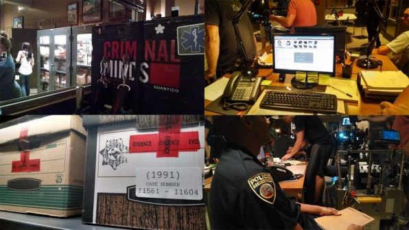 Twitter @CM_SetReport: Evidently we're hard at work on the set of #criminalminds EP10x01 Day 5 of 8.