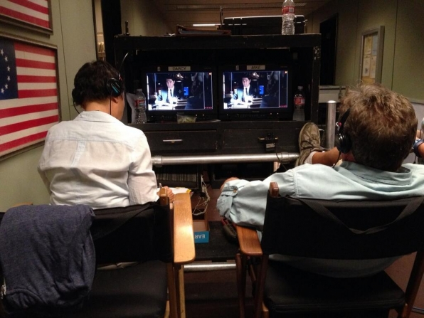 Twitter @CM_SetReport: Getting settled in on the set of #criminalminds EP10x01 Day 3 of 8.