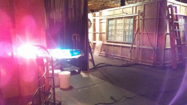 Twitter @CM_SetReport: GHOST COP! #criminalminds EP 10x01 Day 7 of 8.