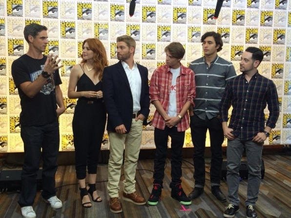 14. CBS.com Host Andrew Freund Welcomes a Few Comic-Con Newbies