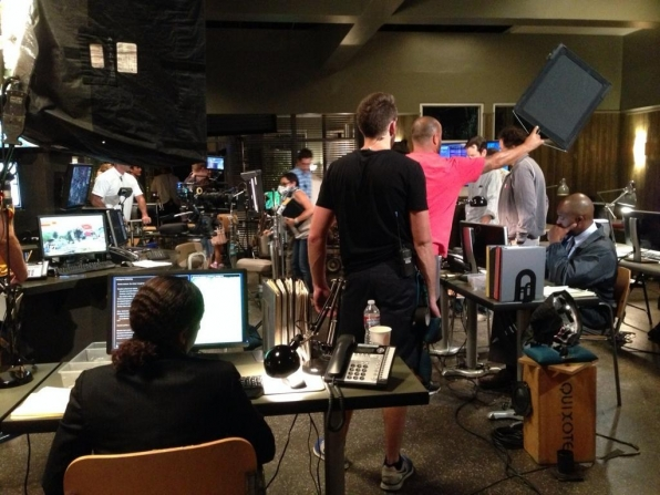 Twitter @CM_SetReport: Making magic happen on the set of #criminalminds EP#10x03 Day 6 of 8