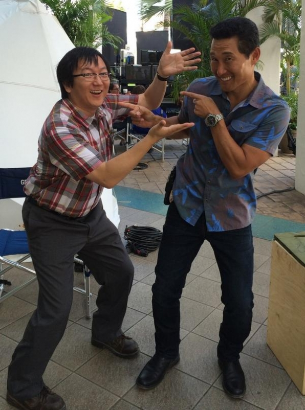 2. Hawaii Five-0 - Masi Oka and Daniel Dae Kim