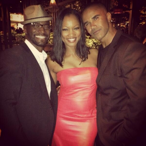 Taye Diggs and Garcelle Beauvais