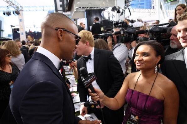 #Emmys Red Carpet Interview