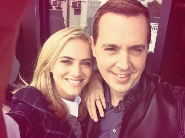 Emily Wickersham and Sean Murray - NCIS