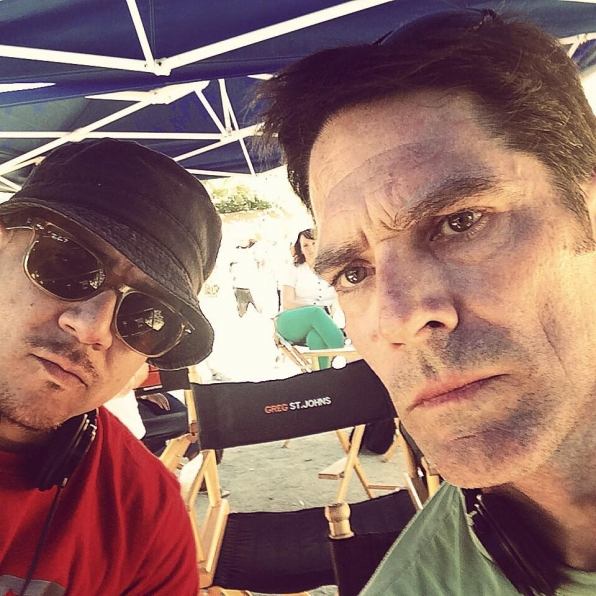 Virgil Williams and Thomas Gibson - Criminal Minds