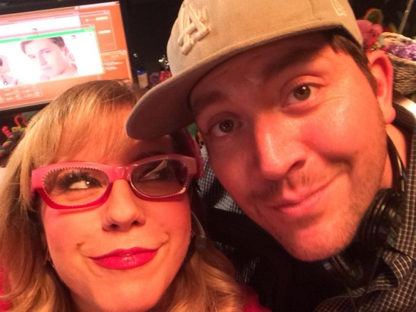 Kirsten Vangsness and Rick Dunkle - Criminal Minds