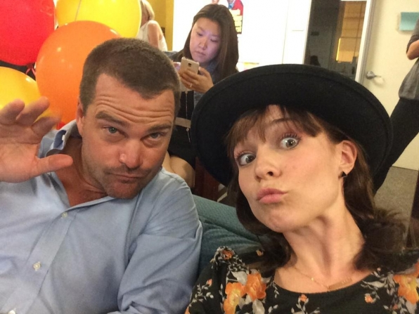 Renee Felice Smith and Chris O'Donnell - NCIS: Los Angeles