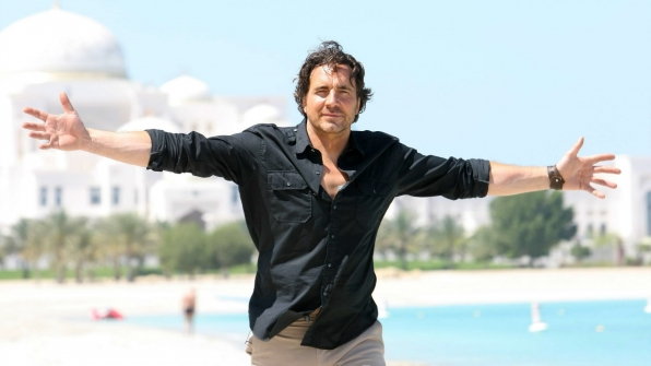 Thorsten Kaye embraced life in Dubai.