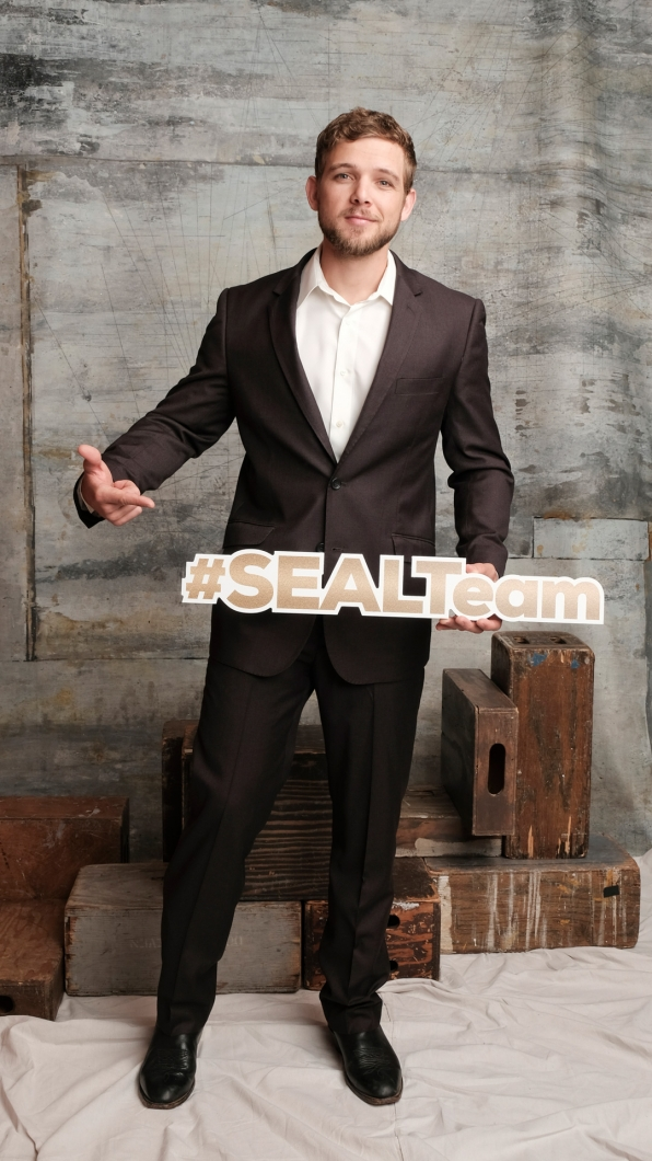Max Thieriot of SEAL Team