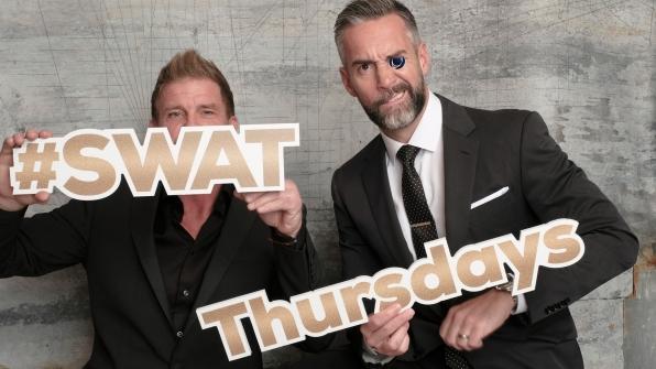Kenny Johnson and Jay Harrington of S.W.A.T.