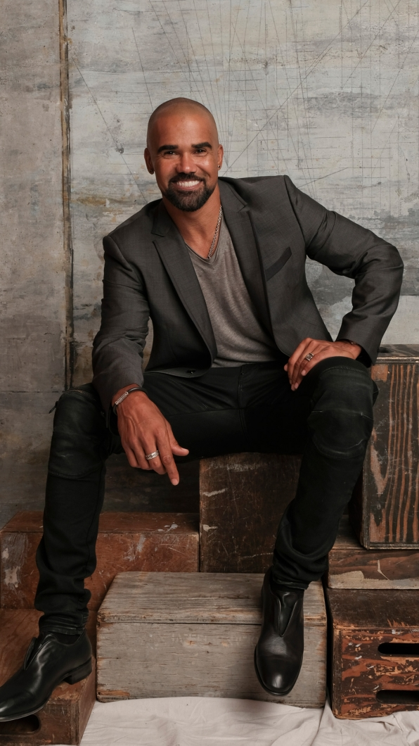 Shemar Moore of S.W.A.T.