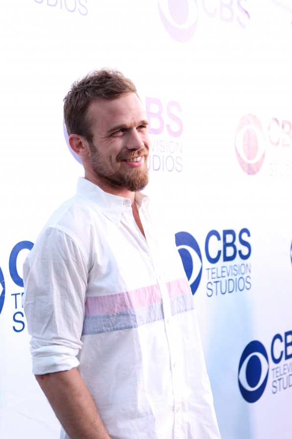 Cam Gigandet on the CBS Summer Soiree Red Carpet