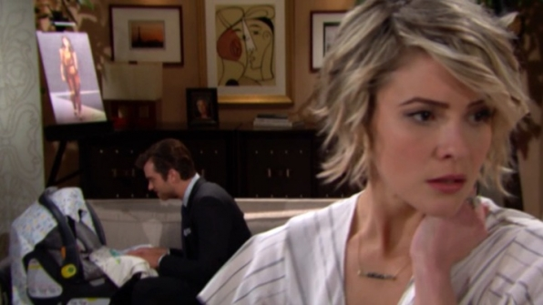 Caroline gets nervous as Thomas grows closer to Douglas.