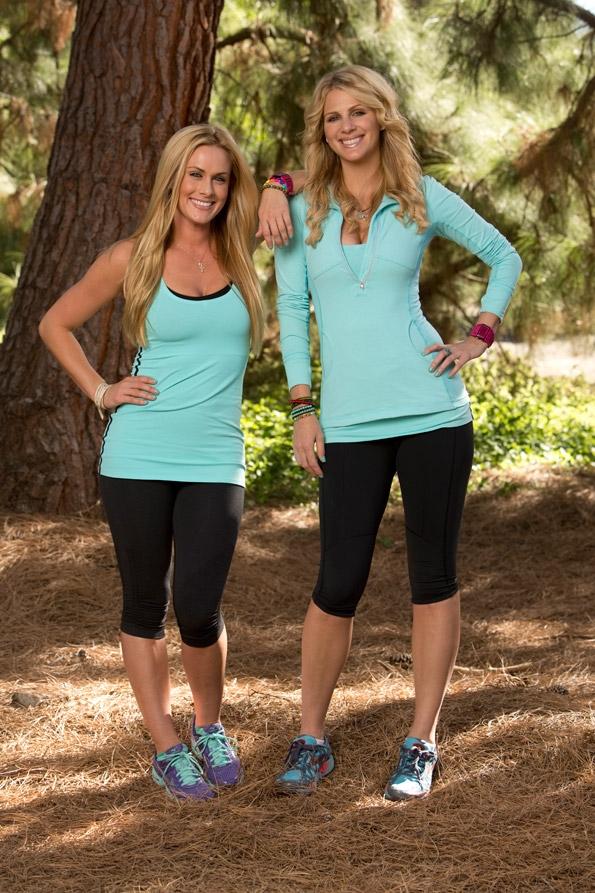 Jen and Caroline